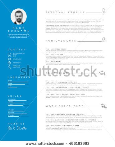 Simple and effective resume samples